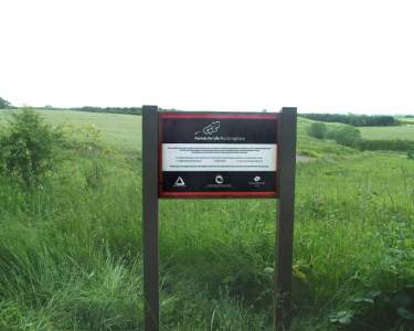 New Sign at Forests for Life Rockingham Planting Site