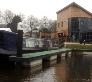 Northampton's multi-million pound marina officially launched