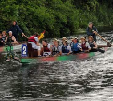 Rotary Clubs of Northampton Dragon Boat Festival