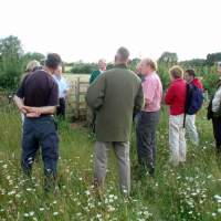Meadow re-creation project at Dovecote Farm, Upper Heyford - 01